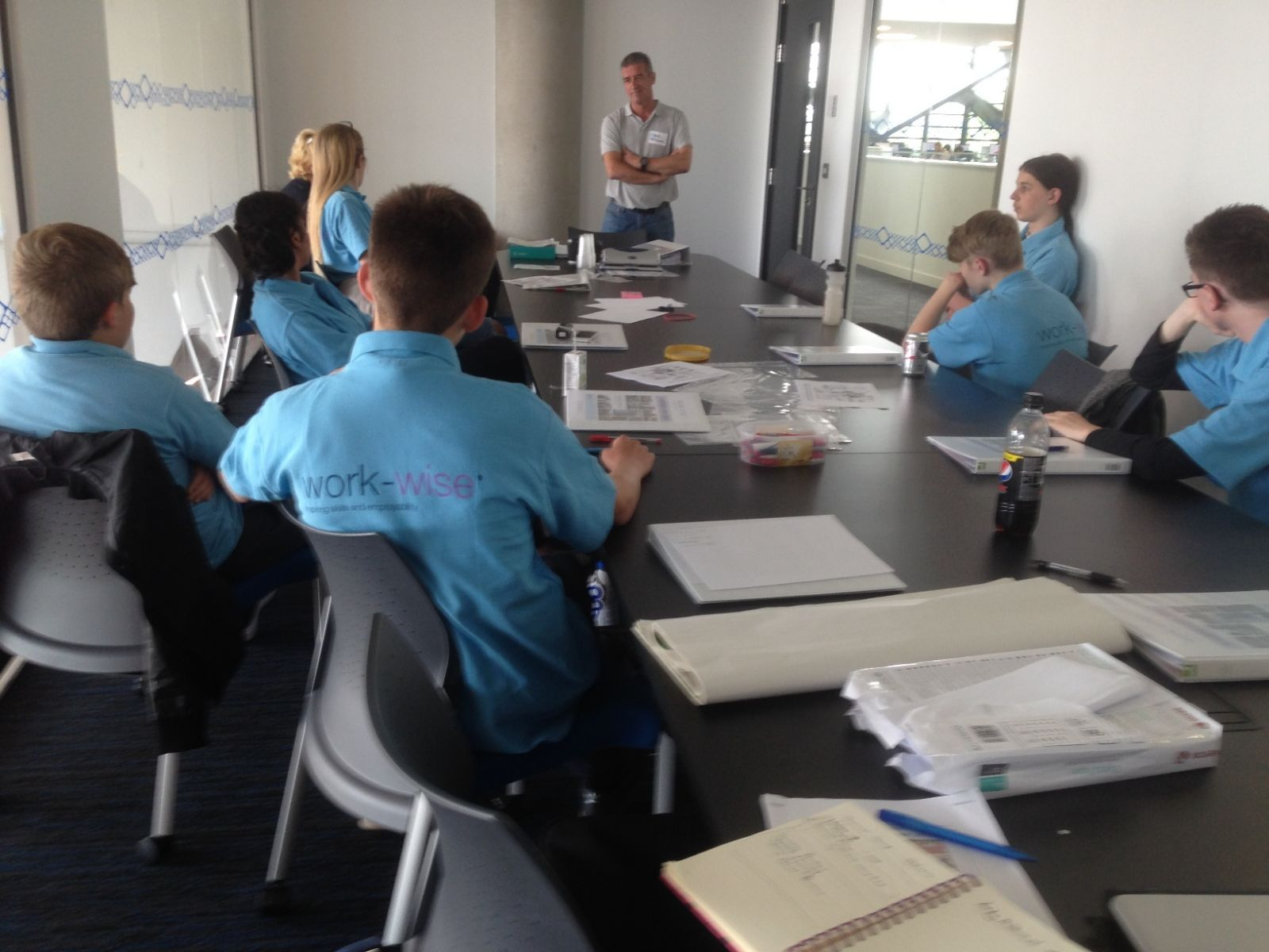 Oracle Precision's Andy Millward at Summer Camp