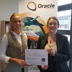 Oracle Precision recognised for support of Summer Camp programme