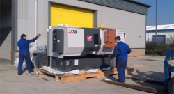 Delivery of Three new CNC machines